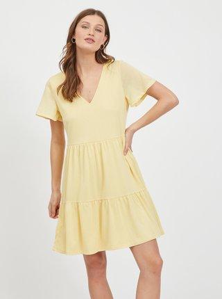Žlté šaty VILA Natalie