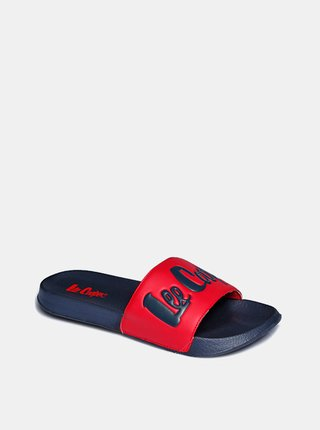 Modro-červené dámské pantofle Lee Cooper
