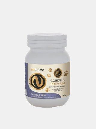 Doplněk stravy pro zvířata Coriolus extrakt Nupreme (100 kapslí)