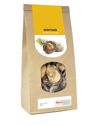 MycoMedica Shiitake sušená 100 gramů