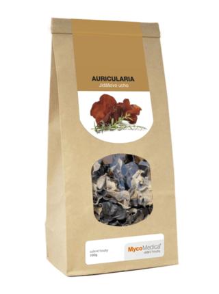 MycoMedica Auricularia sušená 100 gramů
