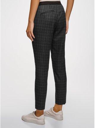 Kalhoty s pružným pasem s ozdobnými kapsami OODJI