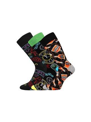 3PACK ponožky Lonka vícebarevné
