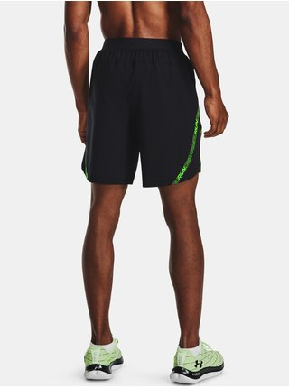 Kraťasy Under Armour Launch SW 7'' Tape Short - černá
