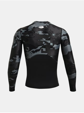 Tričko Under Armour HG IsoChill Comp Print LS-BLK