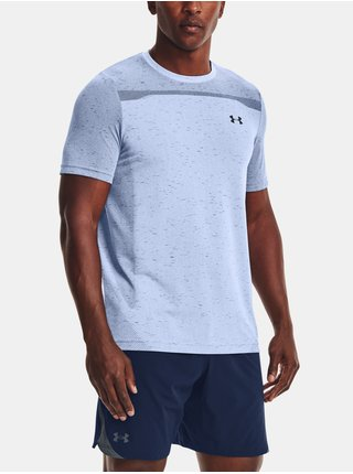 Tričko Under Armour UA Seamless SS-BLU