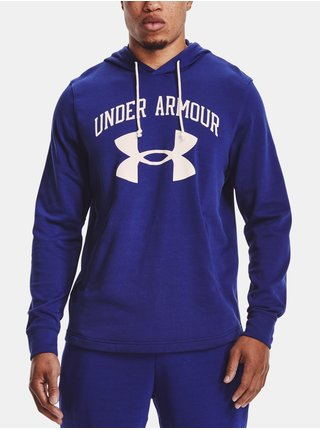 Mikina Under Armour RIVAL TERRY BIG LOGO HD-BLU