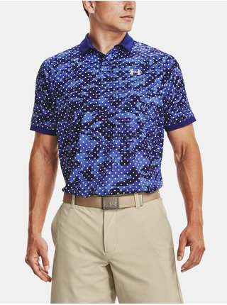 Tričko Under Armour UA Iso-Chill Penta Dot Polo-BLU