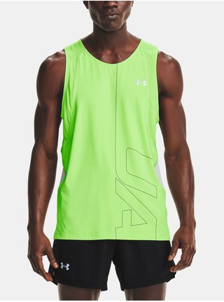 Tílko Under Armour IsoChill Run 200 Vent SL-GRN