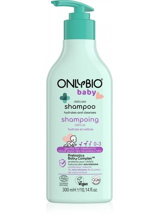 OnlyBio Jemný šampon pro miminka (300 ml)