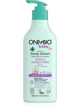 OnlyBio Jemné tělové mléko pro děti (300 ml)