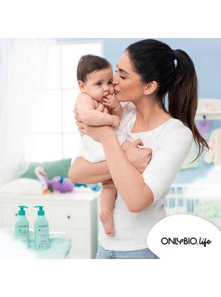 OnlyBio Hypoalergenní mycí pěna pro miminka (300 ml)