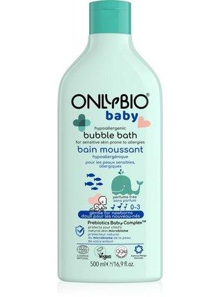 OnlyBio Hypoalergenní pěna do koupele pro miminka (500 ml)