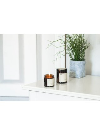 Mulieres Svíčka ve skle - bez vůně (120 ml)