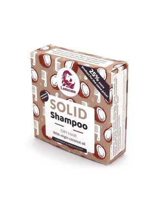 Lamazuna Tuhý šampon pro suché vlasy s panenským kokosovým olejem (70 g)