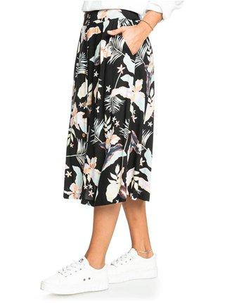 Roxy NIGHT TIME ANTHRACITE LARGE PRASLIN krátká sukně - černá
