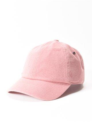 RVCA STAPLE DAD MELROSE baseballová kšiltovka - růžová