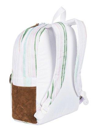 Roxy CARRIBEAN BRIGHT WHITE KAMUELA STRIPE S batoh do školy