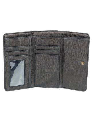 Roxy HAZY DAZE ANTHRACITE PRASLIN S dámská značková peněženka - černá