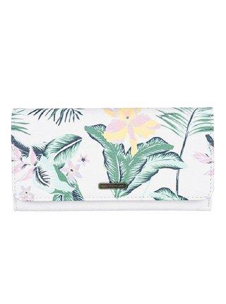 Roxy HAZY DAZE BRIGHT WHITE PRASLIN dámská značková peněženka - bílá