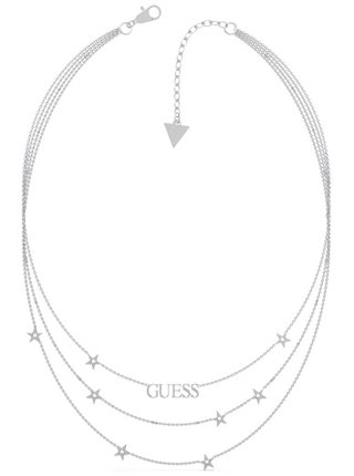 Guess stříbrné náhrdelník A Star Is Born