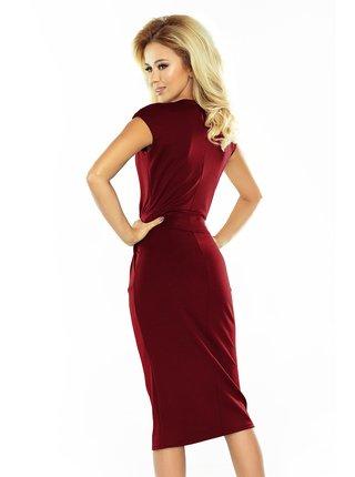 Dámské šaty 144-7 - Numoco vínová