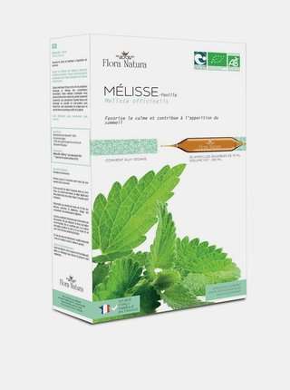 Meduňka lékařská BIO Flora Natura (20 x 15 ml)