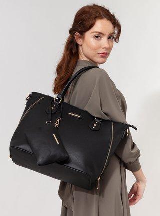 Čierna kabelka s malým púzdrom Bessie London