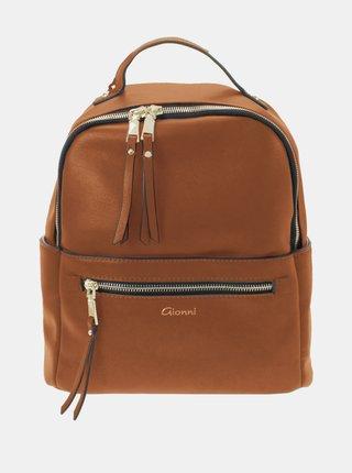 Hnedý batoh Gionni
