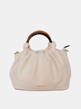 Krémová kabelka Gionni