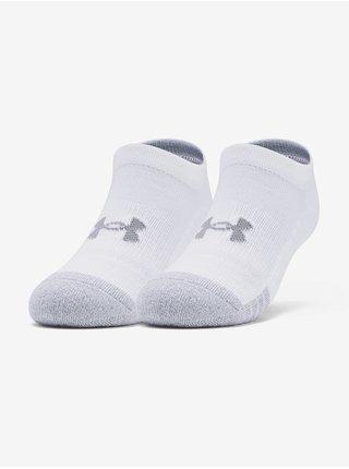 Ponožky Under Armour Youth Heatgear NS-WHT