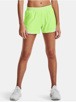 Kraťasy Under Armour Play Up Shorts 3.0 - zelená