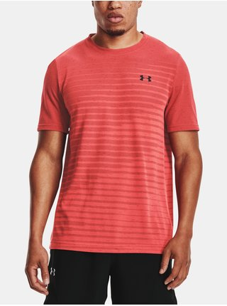 Tričko Under Armour Seamless Fade SS-RED