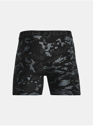 Boxerky Under Armour UA Tech 6in Novelty 2 Pack - černá