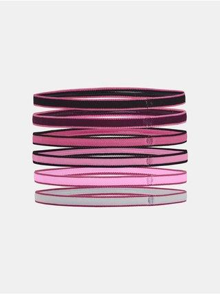 Čelenky Under Armour UA Mini Headbands (6pk)-BLK