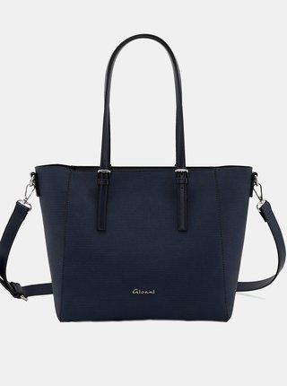 Tmavě modrá kabelka Gionni