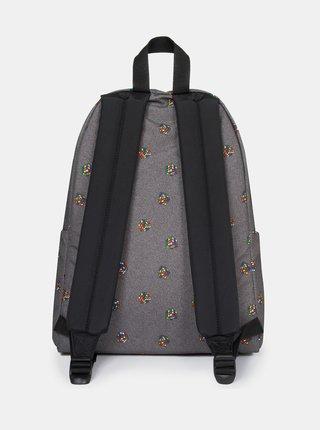 Šedý vzorovaný batoh Eastpak