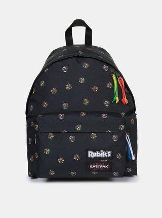 Černý vzorovaný batoh Eastpak