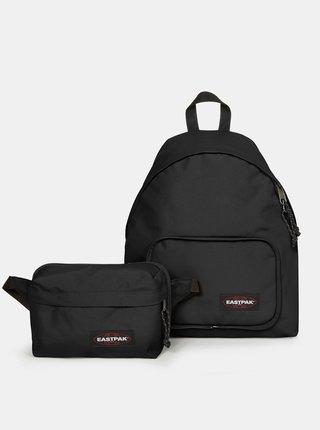Čierny batoh s ľadvinkou Eastpak
