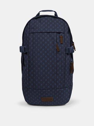 Tmavomodrý vzorovaný batoh Eastpak