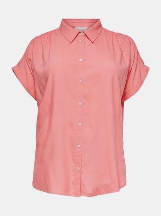 Růžová košile ONLY CARMAKOMA Marok