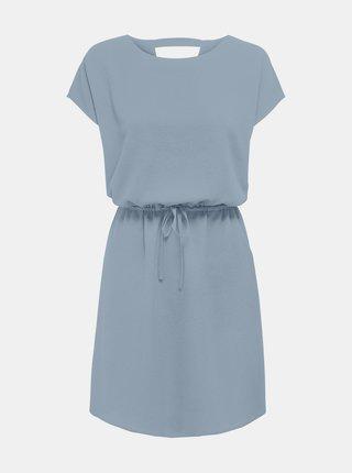 Světle modré šaty se zavazováním ONLY Nova