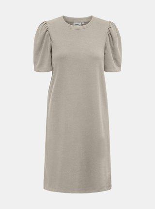 Krémové šaty ONLY Dianna