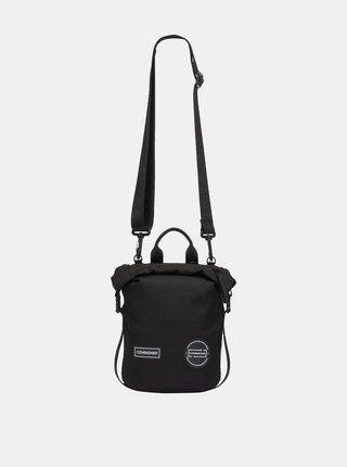 Černý batoh/taška přes rameno Consigned