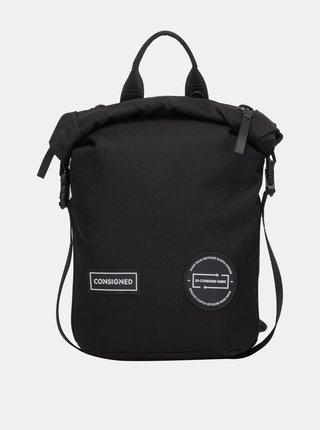 Čierny batoh/taška cez rameno Consigned