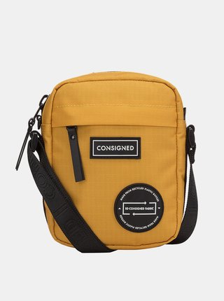 Hořčicová crossbody taška Consigned