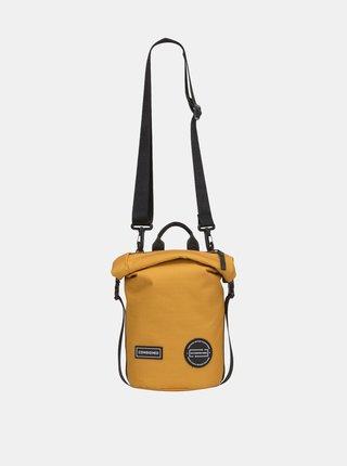 Horčicový batoh/taška cez rameno Consigned