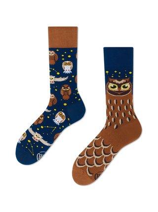 Many Mornings barevné ponožky Owly Moly