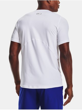 Tričko Under Armour HG Armour Fitted SS-WHT