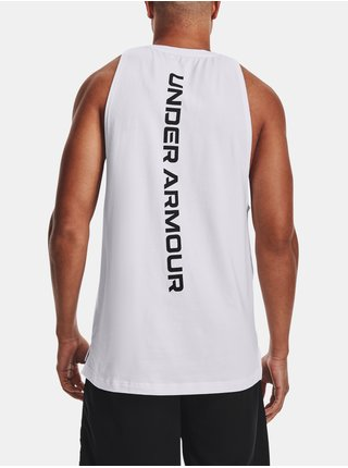 Tílko Under Armour BASELINE COTTON TANK-WHT